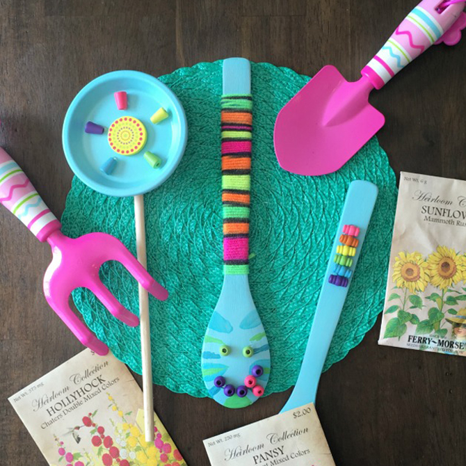 Bright and Cheerful Springtime Garden Crafts For Kids
