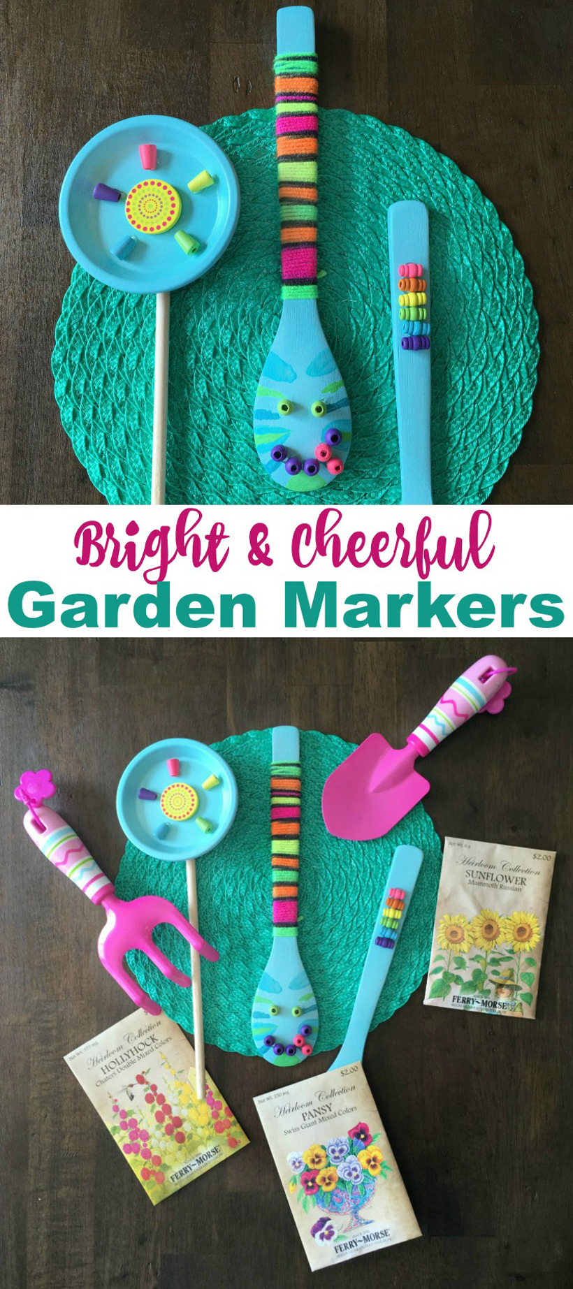 Cheerful springtime garden crafts for kids melissa for Garden crafts for toddlers