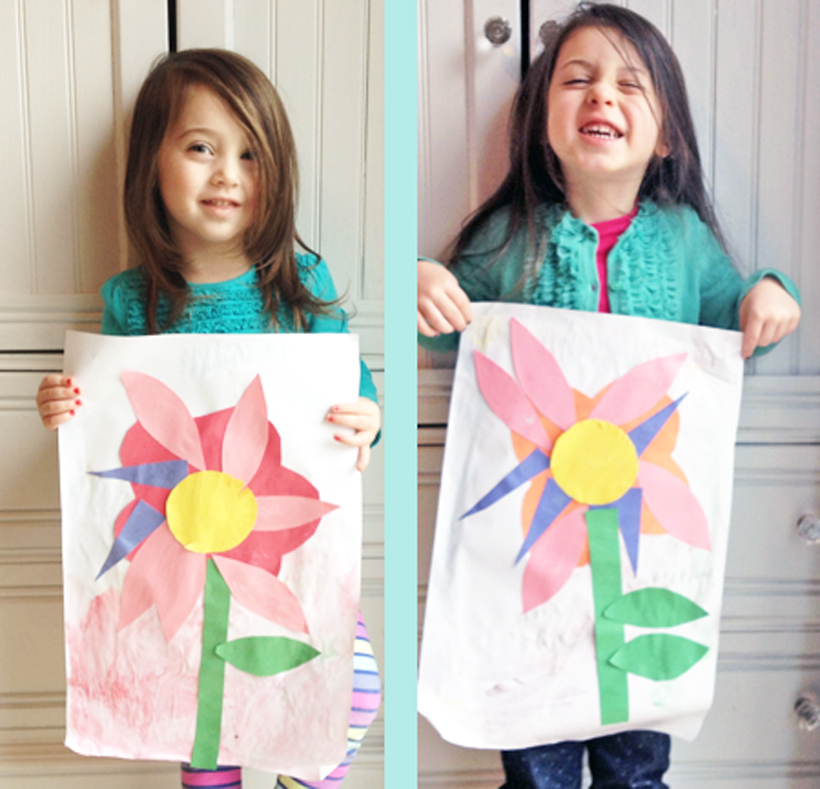 First Day of Spring Flower Craft