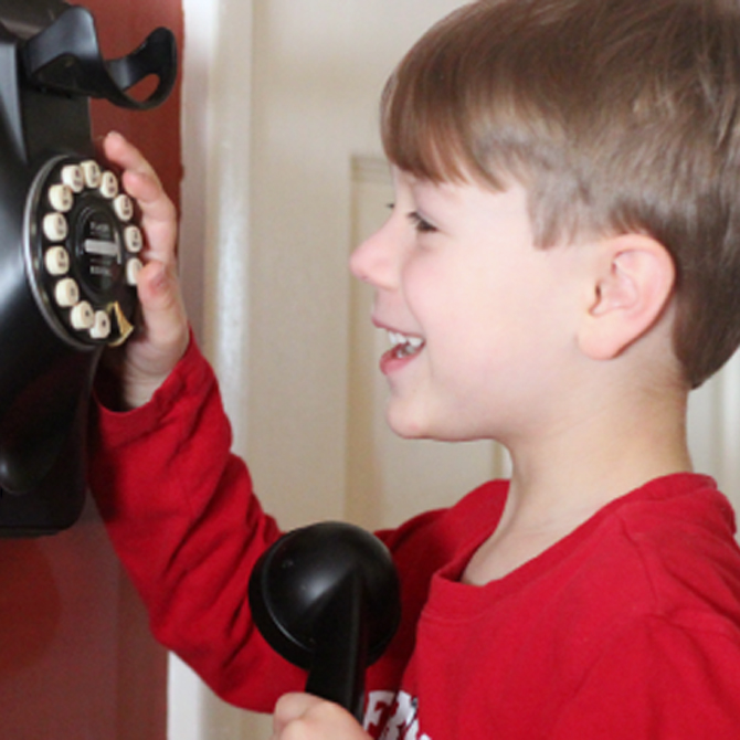 Phone Number Learning Activities for Kids!