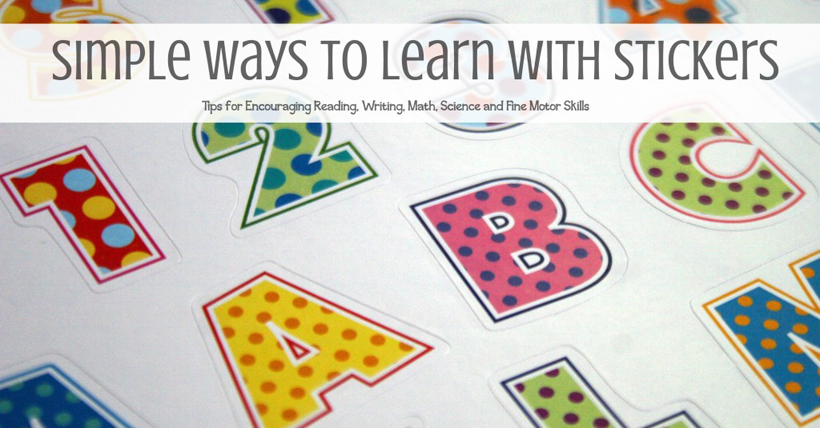 Simple Ways to Learn with Stickers