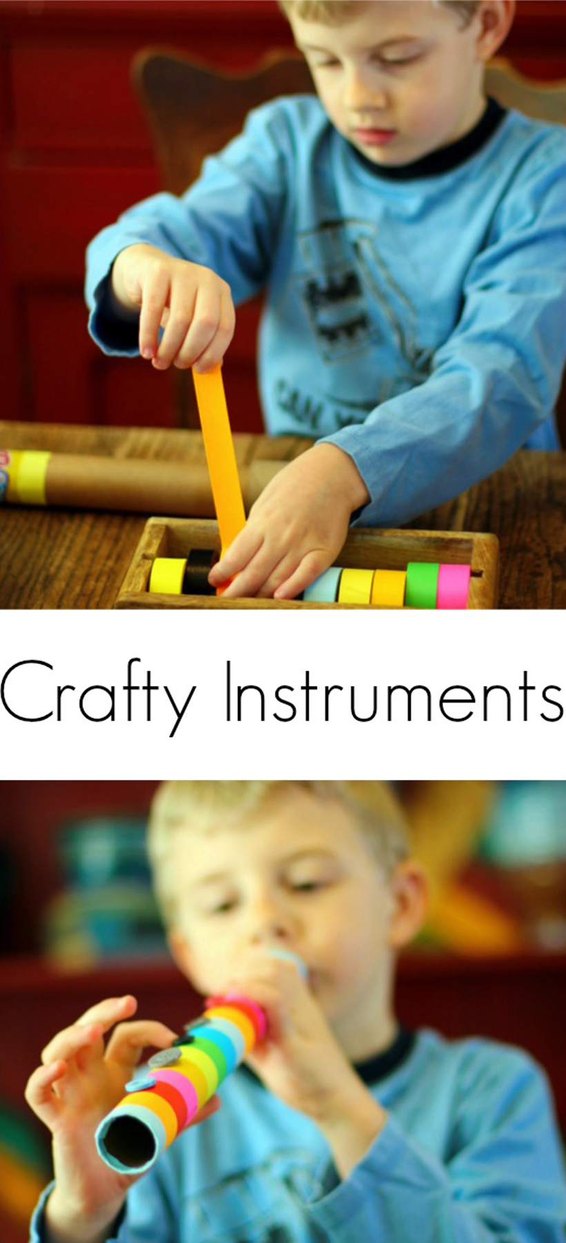 diy crafty instruments