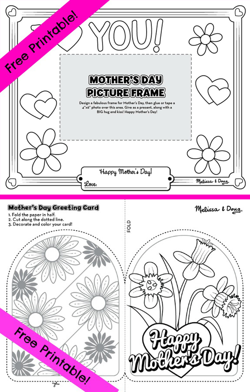 FREE Mother's Day Printables for Kids!