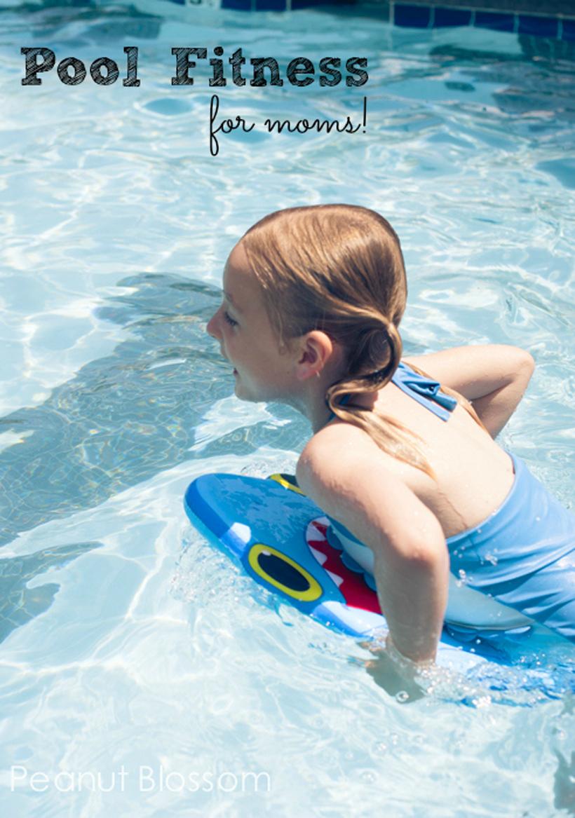 Splashy Fitness Fun for Mom