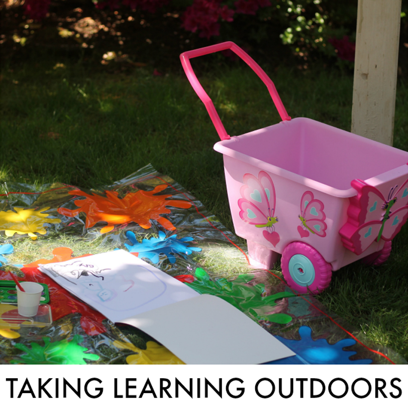 taking learning outside