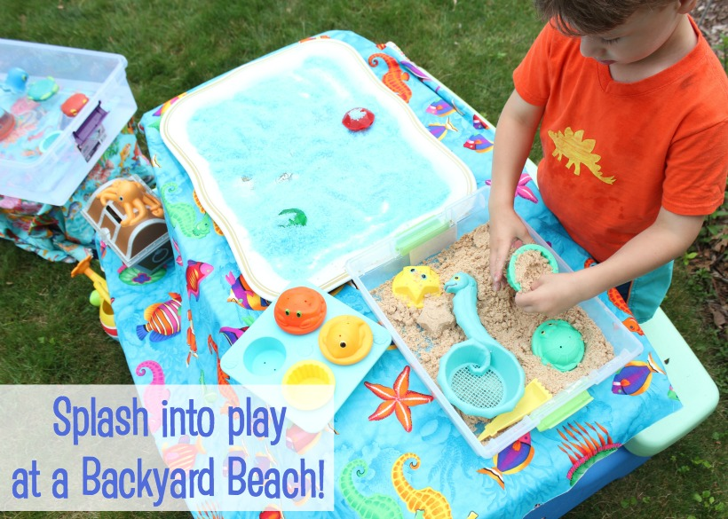 Bring the beach to the backyard!