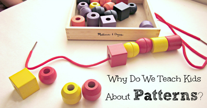 Learning with Patterns Plus a Free Printable