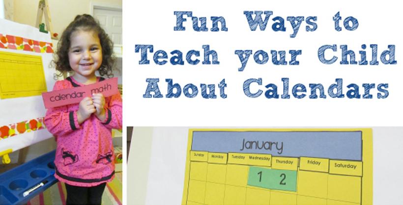 Making a DIY Calendar with Preschoolers: Part One