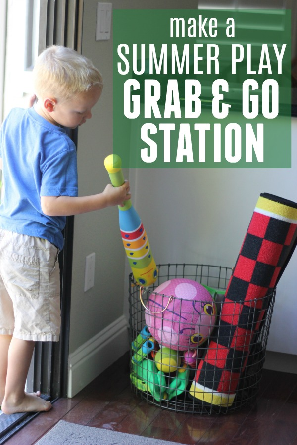 Outdoor Summer Play Station