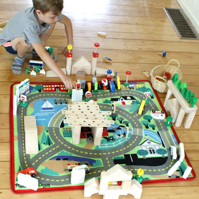 City Planning -  Here's how you can help kids populate a play world!