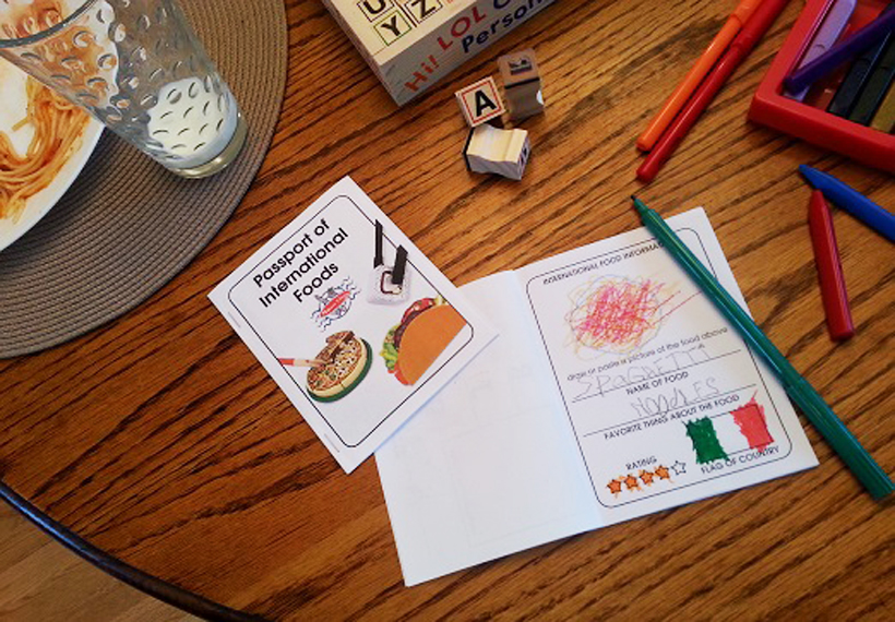 Introducing international foods to kids and picky eaters can be fun with Melissa & Doug pretend play food sets, like stir-fry, sushi, pizza, tacos and burritos!