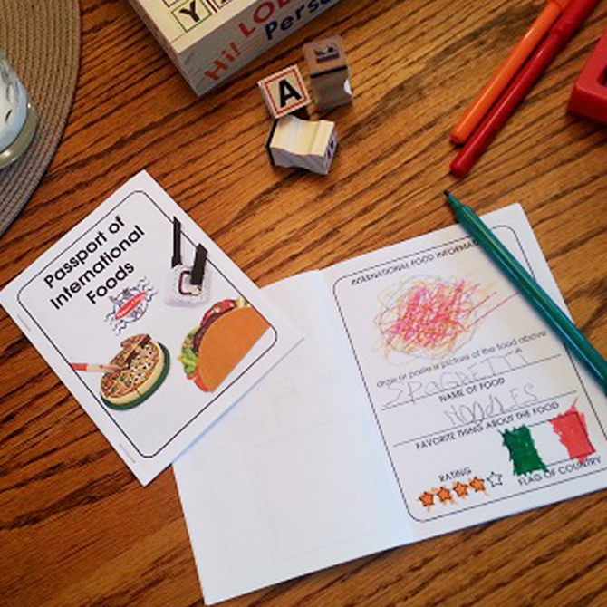 Introducing International Foods to Kids!