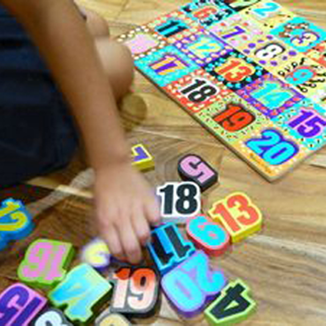 4 Early Math Concepts Using Puzzles