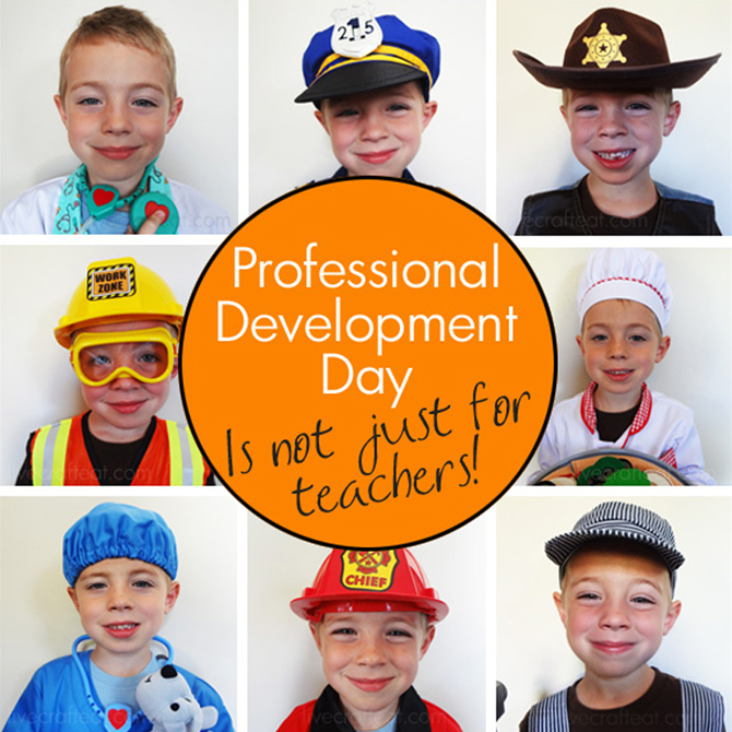 Professional Development Day – Activities for Kids!