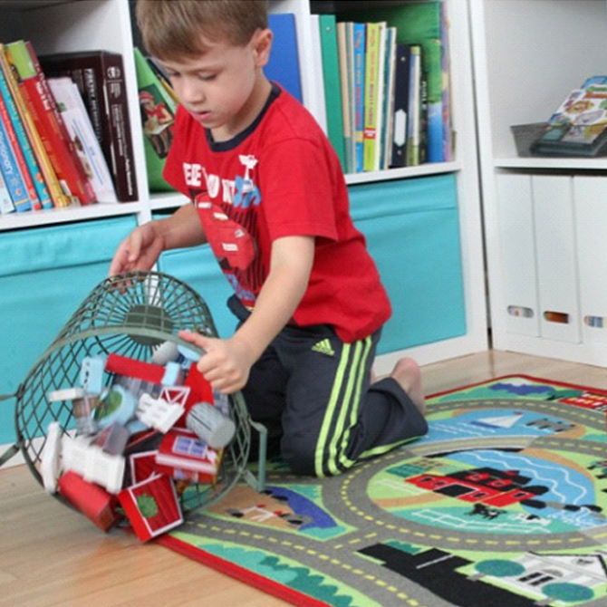 Too many toys? Creative Ways to organize and reduce clutter!
