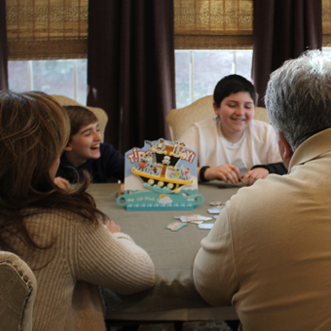 Family Games: The Benefits of Laughter
