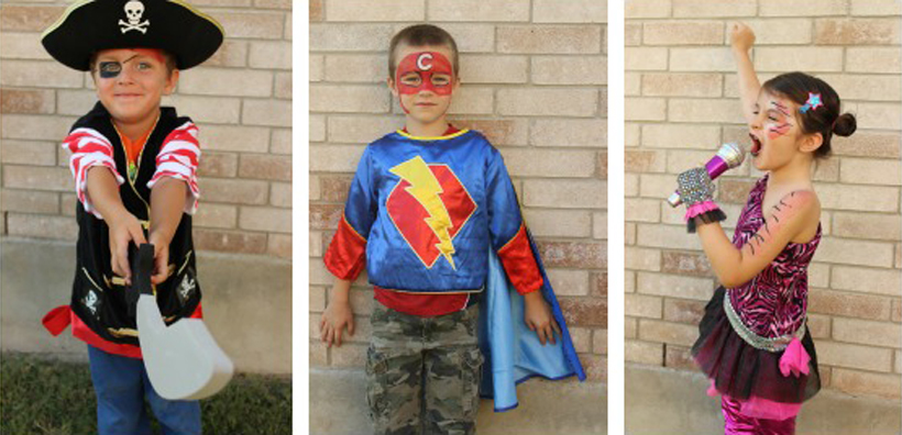 Stacy Shares: Take Dress-Up Up A Notch! *Get creative Halloween costume ideas and ways to use face paint for trick or treating on the Melissa & Doug Blog.
