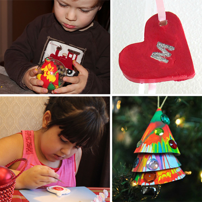 5 Oh-So-Cute Ornament Projects for Kids