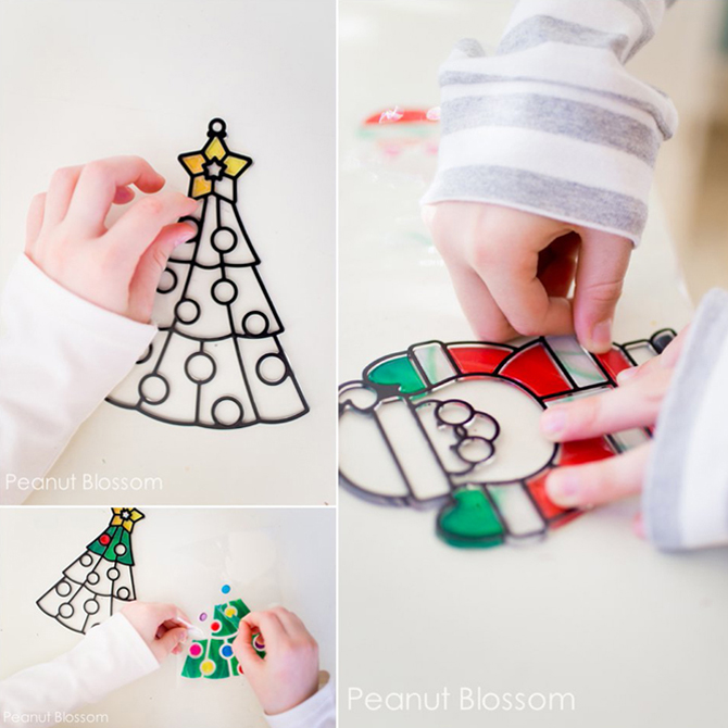 8 Simple Mess-Free Christmas Crafts for Kids