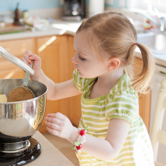 Capturing Kids in the Kitchen