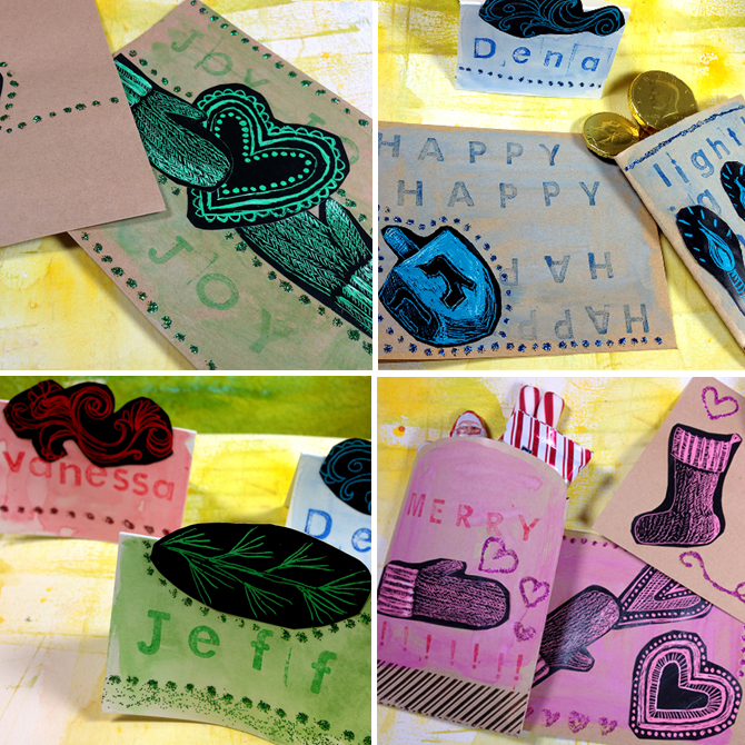 Scratch Art Crafts: Cards, Envelopes, Gift Bags and More!