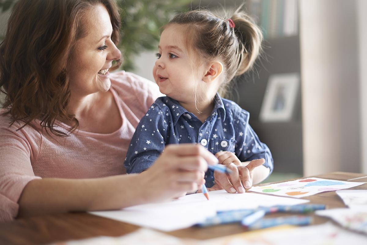 encouraging speech in children through play