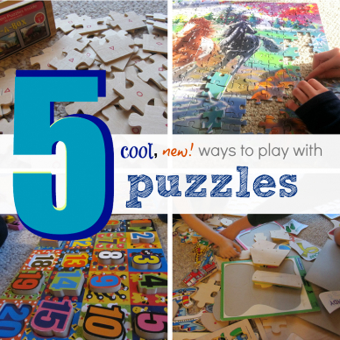 5 Cool NEW Ways to Play with Puzzles (Yes, the Ones You Already Have!)
