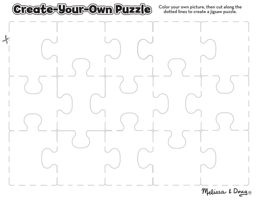 3 Free Printable Puzzles – for Kids! | Melissa & Doug Blog