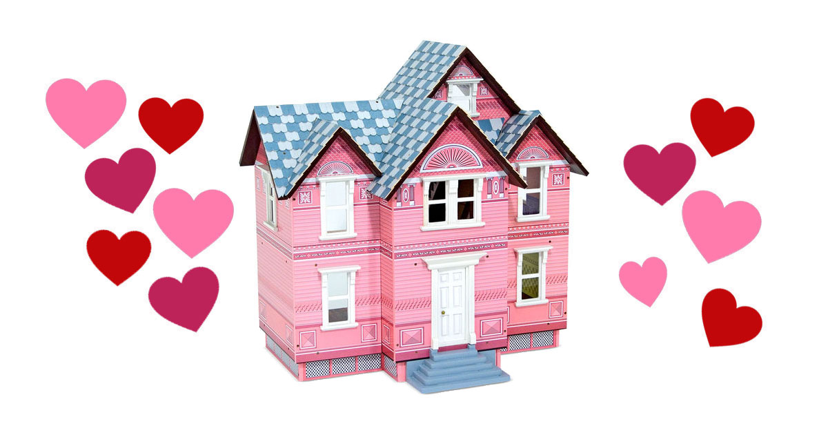 dollhouse gift for a 7 year old