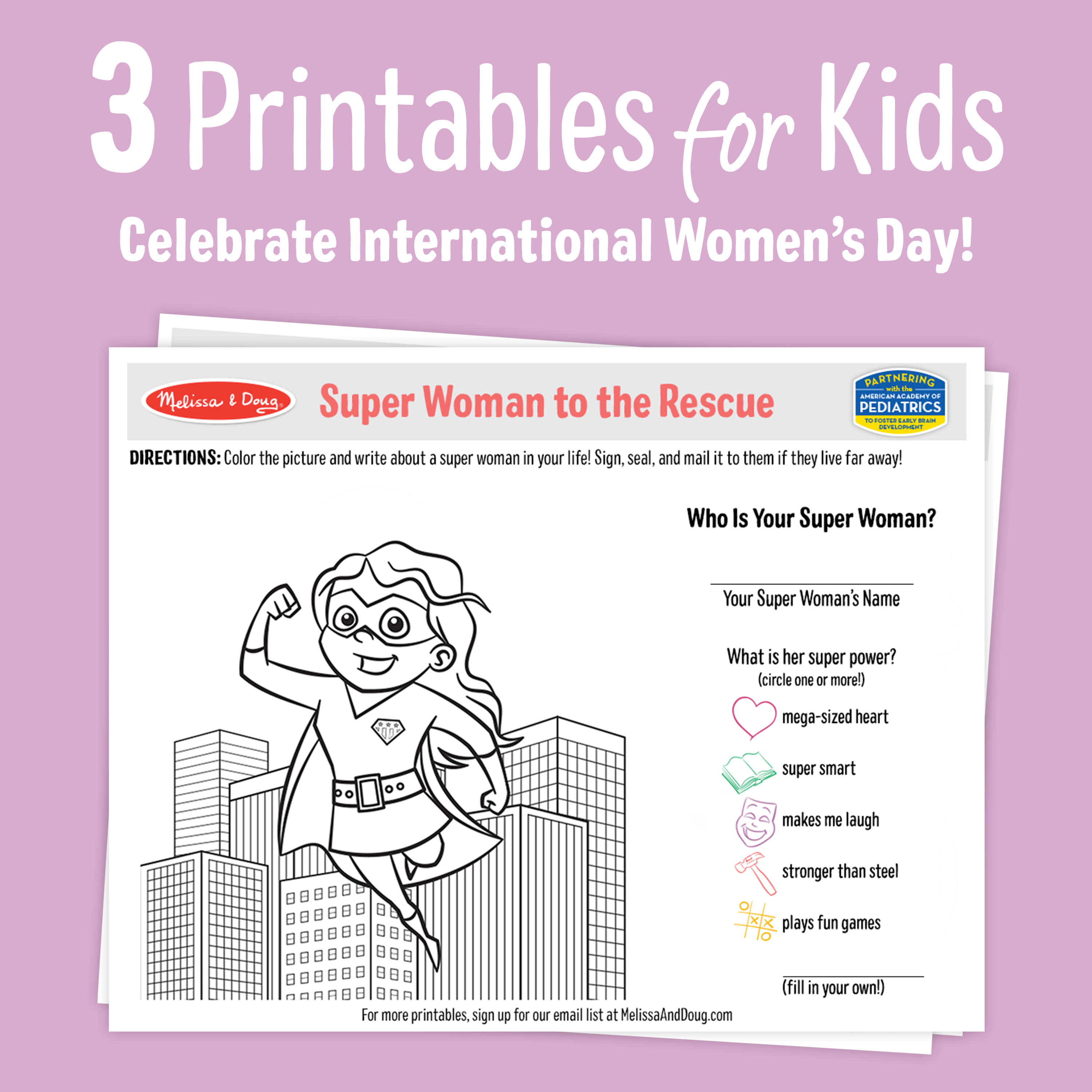 How Play Can Help Raise Powerful Girls (+ 3 Printable Activity Pages!)