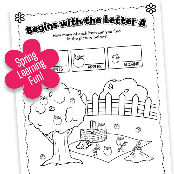 Spring Printable FUN! Part Three