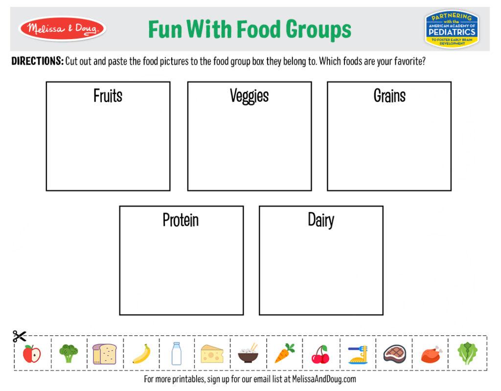 3 Free Printables For Kids Nutrition Activities Melissa Doug Blog