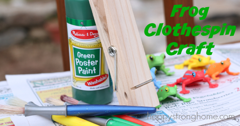 Hop to it and get into the fun of Frog Month with simple games and a craft for kids on the Melissa & Doug Blog.