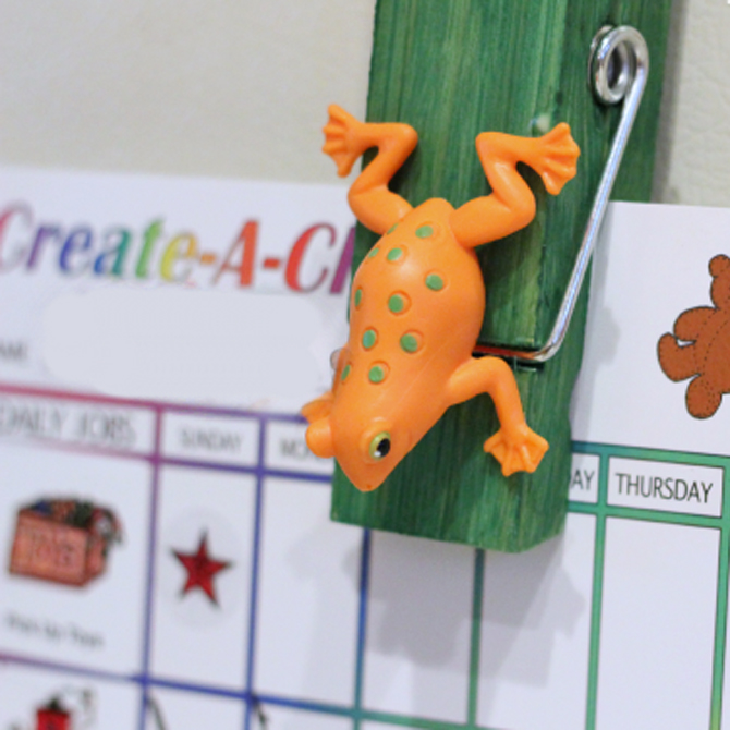 Hop-to-it Craft for Frog Month