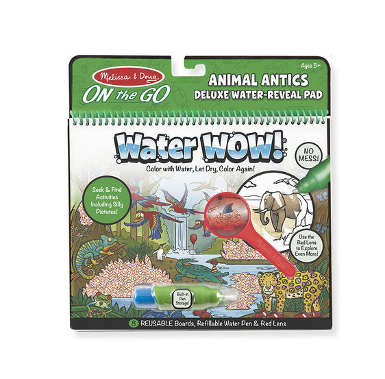 Water Wow On the Go Deluxe Water-Reveal Pad – Animal Antics