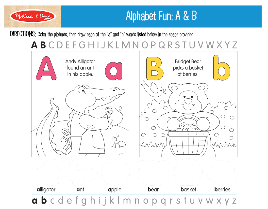 20 Free Printables: Now I Know My ABC's