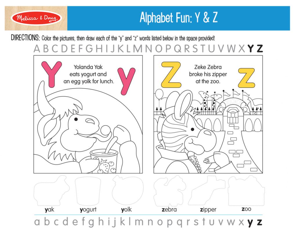 Printable_AlphabetFun-YZ