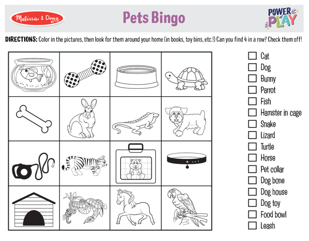 Printable_Games_PetsBingo