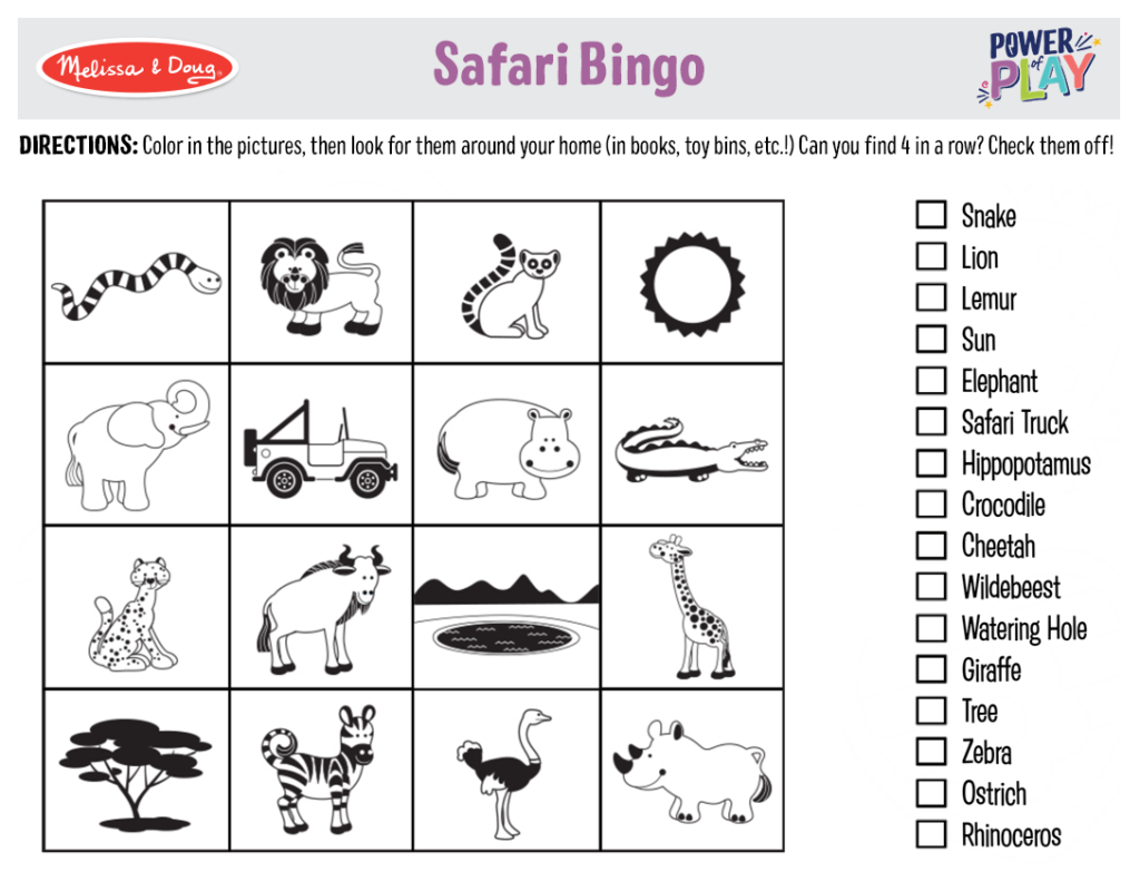 Printable_Games_SafariBingo