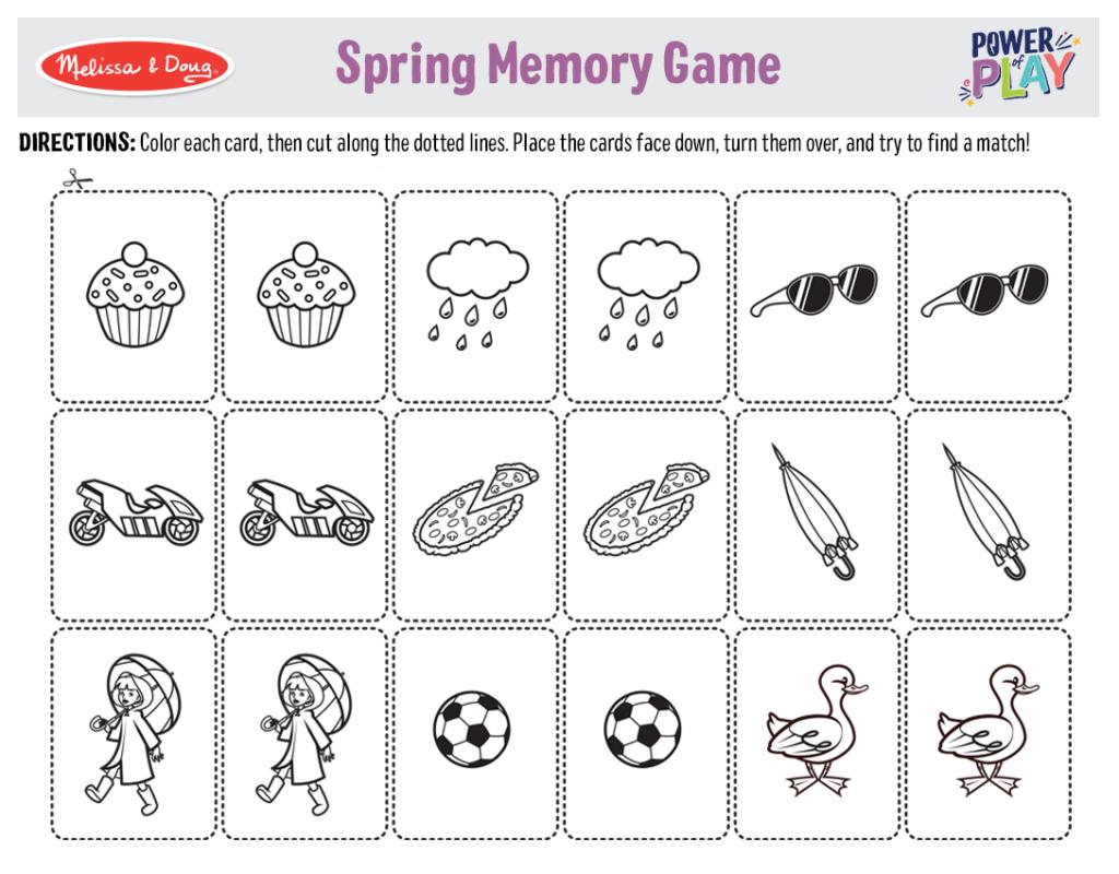 Printable_Games_SpringMemoryGame
