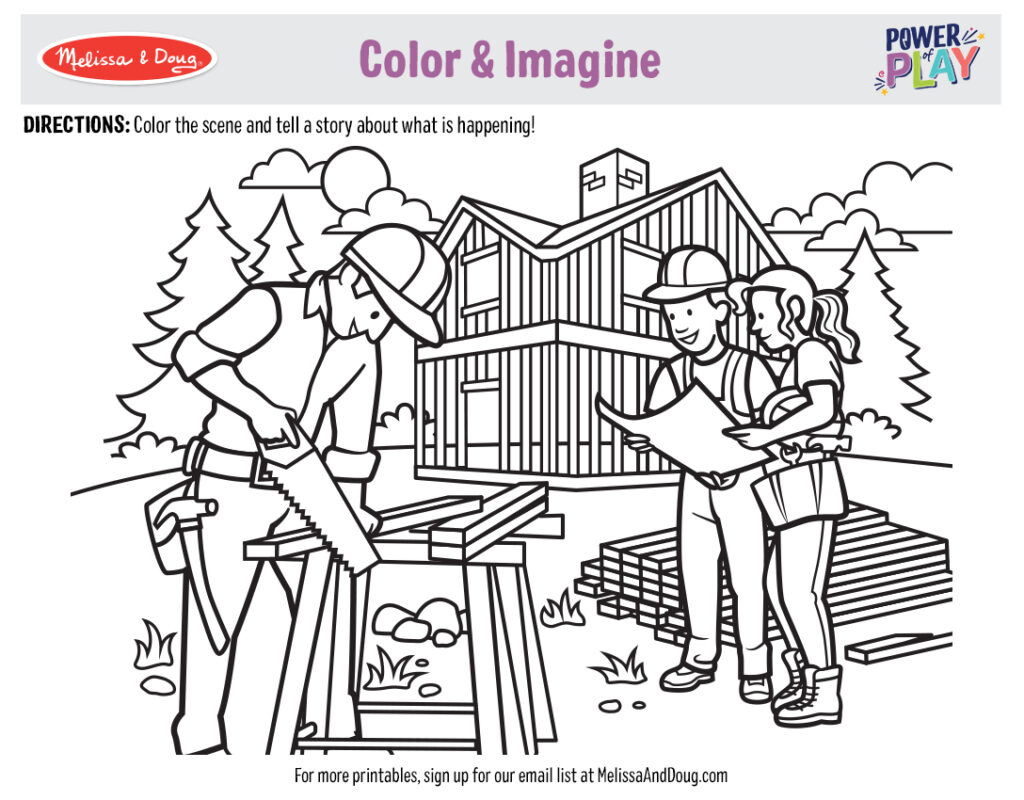 Printable_Coloring-Occupations_1