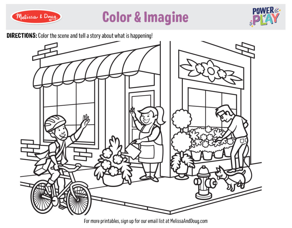 Printable_Coloring-Occupations_4