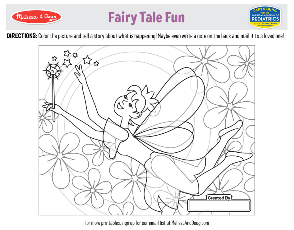 Printable_Coloring-FairyTale_2