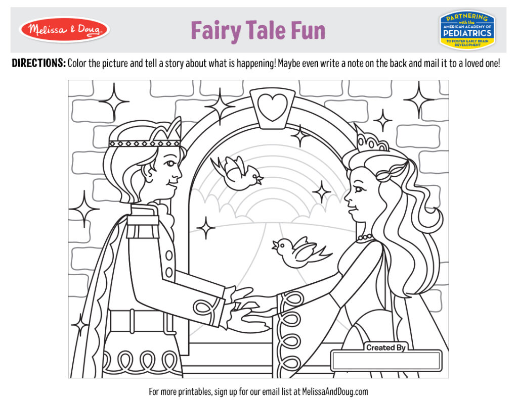 Printable_Coloring-FairyTale_1