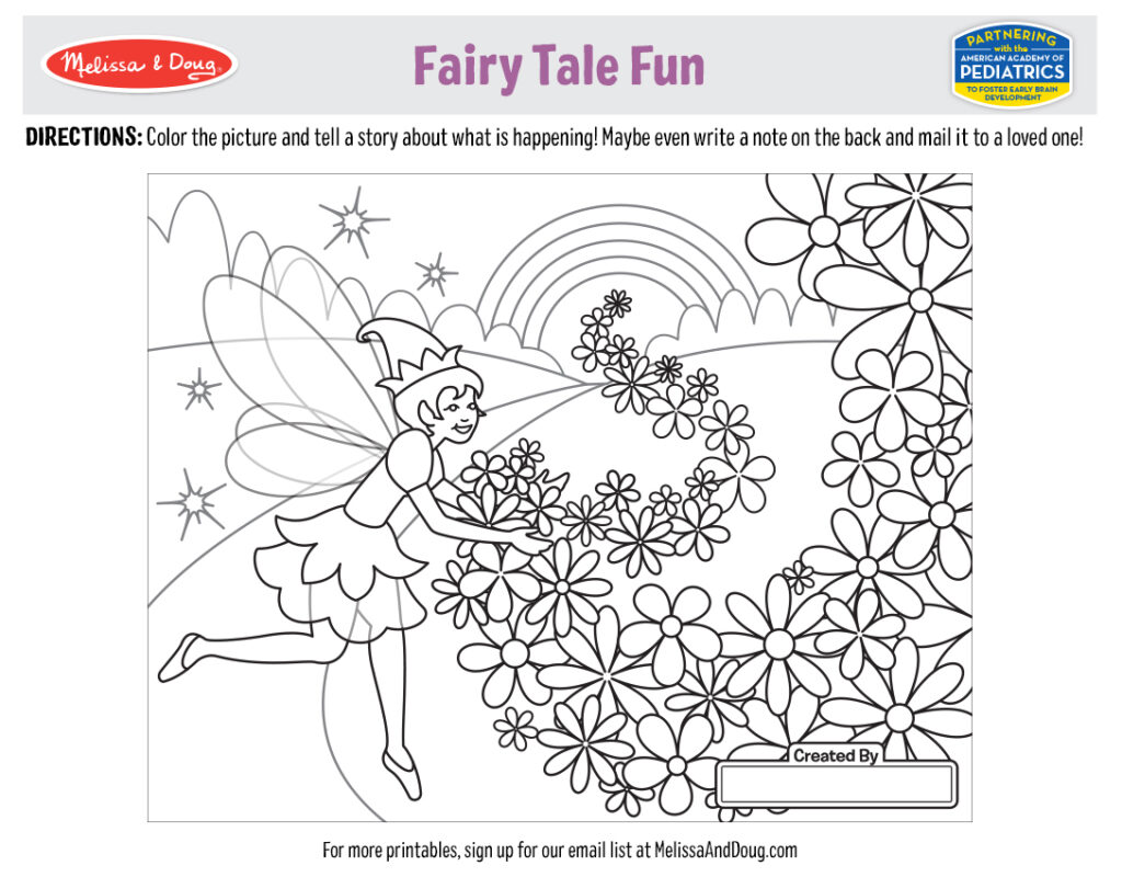 Printable_Coloring-FairyTale_4