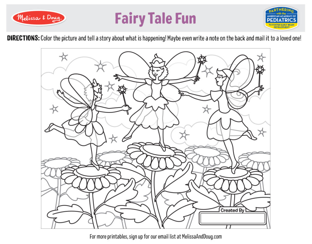 Printable_Coloring-FairyTale_5