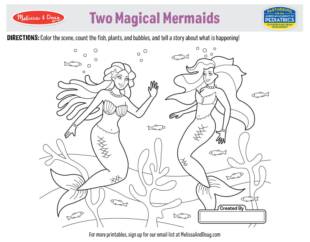 5 Free Summer Coloring Pages & Printables