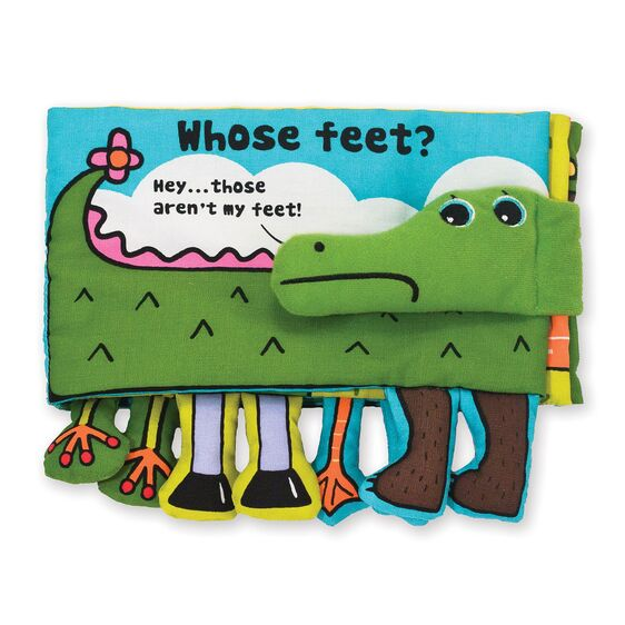 Soft Activity Book - Whose Feet? Image