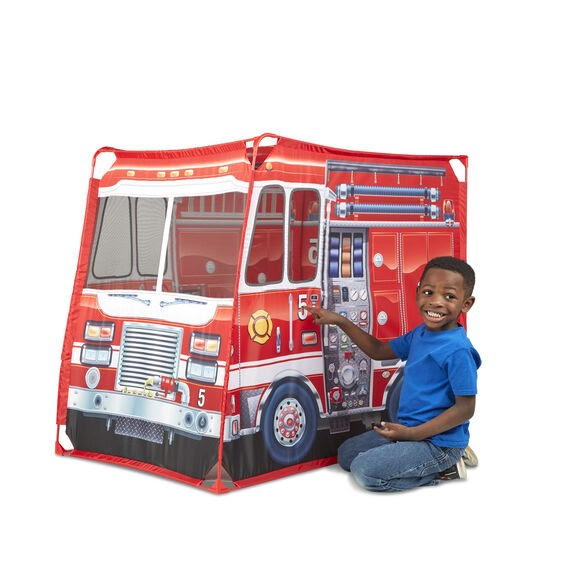 Fire Truck Play Tent Image