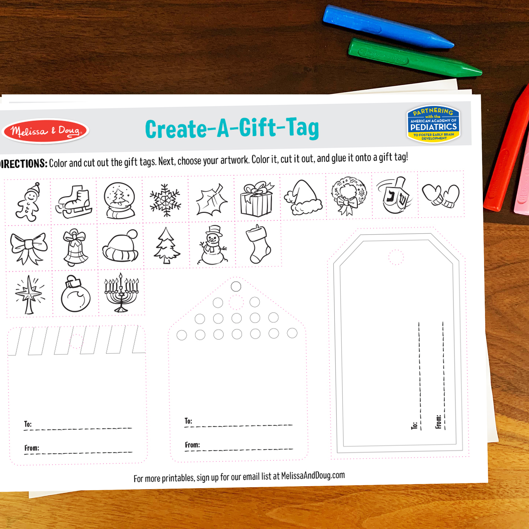 3 Free Holiday Printables to Make Christmas Extra Special
